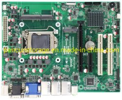 공장 출하 시 인텔 코어 2/3th 셀러론 CPU ATX 산업용 마더보드