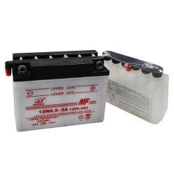 12V6.5ah sec rechargeable charge Mf moto de stockage de la batterie plomb-acide