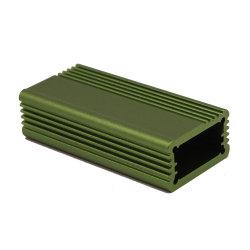 알루미늄 휴대용 이동할 수 있는 전력 공급 Enclosure/HDD 전력 공급 울안 또는 하이테크는 알루미늄 상자를 양극 처리한다