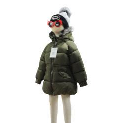 Kinderen Winter Outwear Padding Coat met Faux-Fur Hood Jacket