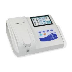 شاشة LCD ملونة قياس 7 بوصة، محلل شبه تلقائي محمول شبه آلي للكيمياء الحيوية يعمل باللمس بالكامل Bc300 Blood Test Machine Auto Chemistry Analyzer (محلل الكيمياء التلقائي)