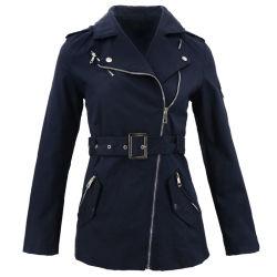 Женщины уже давно джинсовая мода Windbreak высокое качество пользовательских Parka куртка
