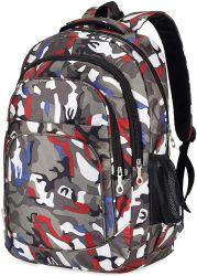 Moda de alta calidad de Estudiante mochila de camuflaje Bookbags