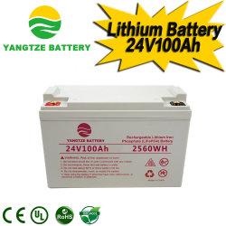 Yangtze Mais Populares 24V 36V 72V 100Ah 200Ah LiFePO4 Lítio Fosfato de ferro das células da bateria para venda