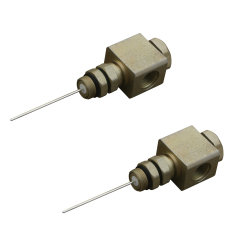 90, 180도 핀 유형 트렁크 동축 케이블 RF 커넥터 500 540 동축 케이블