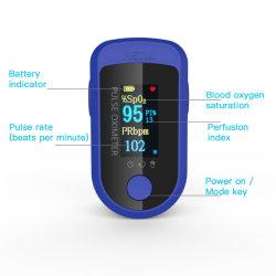 Новая конструкция пальцевой датчик SpO2 Pr Oximete Fingertip Oximete пульса для быстрой крови кислородом измерения монитора