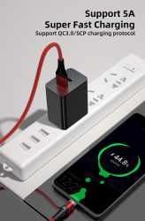 Adattatore da viaggio portatile da parete con logo OEM 5V 1A 2,1A 2,4A Caricabatterie USB universale per lampada da tavolo per droni per giocattoli