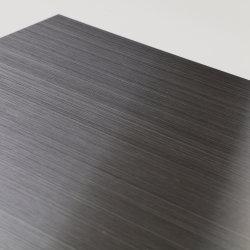 200/300/400 Noir Titane Hl Feuilles en acier inoxydable/Plaques