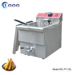Для изготовителей оборудования на заводе прямой цена Ce утвердил электрический лучших глубокую фритюрницы кухонного оборудования одного бака фритюрницы со сливным краном