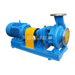 Ih High Volume End Suction Einstufiges Edelstahlwasser Chemische Zentrifugalpumpe für die Verarbeitung von Säurefutter