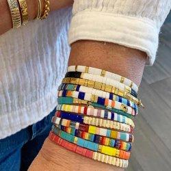 Mlgm Frauen Armbänder Miyuki Tila Armband Geschenk Sommer Regenbogen Seil Feine Imitation Piercing Schmuck Pulseira Mujer Moda 2020 Handmade Großhandel Schmuck