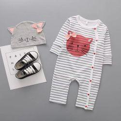 Meisjes Tie Wholesale Fashion Cute Dyed Knitted Cotton Children Baby Kinderkleding