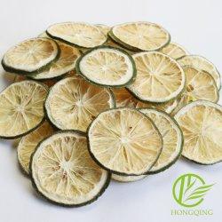 Rodela de limão Frutas secas cal desidratada comida ad