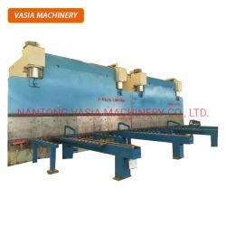 prensa de doblado CNC tándem para la fabricación de postes de luz
