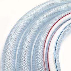透明編組 PVC ホース /PVC 編組ホースパイプ / プラスチックファイバーホース