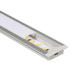 La Chine de personnaliser les accessoires pour bande LED lumière LED encastré dans le profil en aluminium