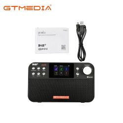 Gtmedia Z3b портативных радиостанций DAB+/FM RDS радио Wavebands поддержки Bt USB аккумулятор часы/будильник и таймер сна с течением времени резервного копирования