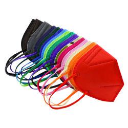 أوروبا القياسية المضادة للغبار CE En149 حزام الأذن نوع الأزياء لون قناع كمامة FFP2