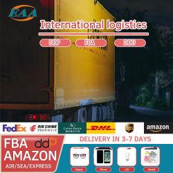 خدمة النقل السريع من الباب إلى الباب من شركة EAA من شركة FedEx/TNT/UPS/DHL من الصين إلى إسرائيل أوفدا