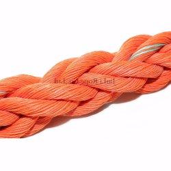 8 brin de la corde la corde de polypropylène Marine Danline PP PP aussière Ligne d'amarrage de corde