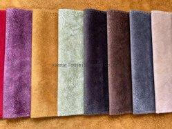 Tissu de canapé 100 % polyester, micro-daim