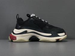 1: 1 Balenciga 3 أحذية رياضية للرجال أحذية عادية أحذية رياضية حجم اليورو 36-45 مع مربعات الشعار