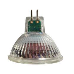 مصباح LED بتقنية Gu5.3/MR16 بقوة 3 واط مع ظل مصباح زجاجي