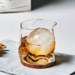 크리에이티브 크리스탈 글래스 위스키 글래스 일본 스타일의 무연 와인 유리 맥주 유리 개인용 워터 컵