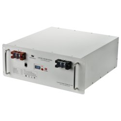 Li Ion Litio 48V 100Ah Teleocm Solar LiFePO4 Batería recargable con BMS y pantalla LCD