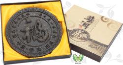 De aangepaste Thee van de Cake van Yunnan Rijpe Puer Puerh van het Pakket van de Gift