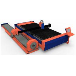 Lamiera sottile e tubo della taglierina del laser della fibra di CNC della tagliatrice del laser di alto potere 3000W 4000W 5000W