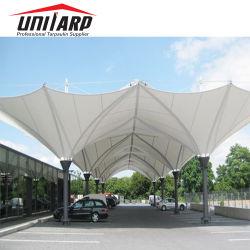 Einfache Landschaftsschutz-Stadion-Auto-Parken-Halle-Autoparkplatz-Membranen-Zelle der Reinigungs-2000*2000d im Freien