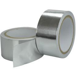 Nastro elettrico del di alluminio di conduzione del singolo condizionatore d'aria a prova di fuoco adesivo laterale termoresistente per il frigorifero