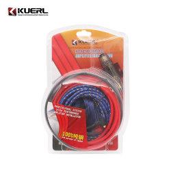 Kits de cable Popular, el 100% Puro cobre del cable de alimentación Subwoofer 10ga amplificador de audio de coche Kits de Cableado