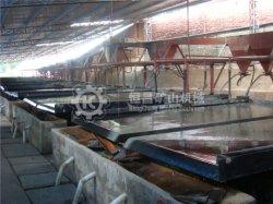 Concentrador de oro de laboratorio la separación de minerales mesa vibradora fabricante de China Hengchang