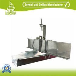 鍵穴の適用範囲が広い乾式壁の金属Tトラック柵のライトによって電流を通される鋼鉄