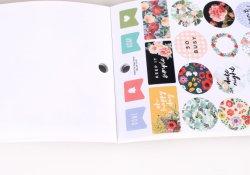 Matt Sticker Papier Druck Aufkleber Etiketten Custom Logo Vielen Dank Aufkleber für kleine Unternehmen