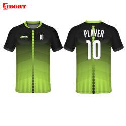 Aibort Hot الجودة سعر رخيصة سعر مخصص كرة القدم ارتداء الشِريخ Breathablity جرسي كرة القدم سريع الجفاف (V-FOOTALL2 (3))