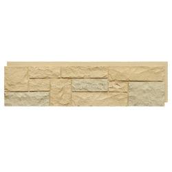 Pannello parete in mattoni in pietra di plastica in poliuretano artificiale con effetto 3D