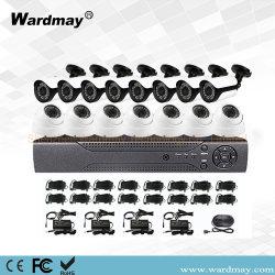 工場価格 16ch 8MP 4K Ahd カメラビデオ監視 CCTV DVR キットセキュリティカメラシステム