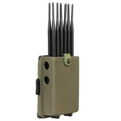 12 Stoorzender with&#160 van het Signaal van antennes de Draagbare; De langere Antennes van de Aanwinst 2.0dBi. 12000mAh Batteryblock 2g, 3G, 4G, WiFi, GPS, RF315/433/868, Lojack (jyt-1280B)