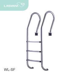 Piscina de acero inoxidable escalera (WL-SF)
