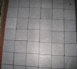 Barato preço M2 chineses mosaico piso em granito da Pedra de calçada preta