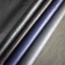 직물 도매 남성용 재킷은 Faux PU PVC 가죽을 사용합니다 제품