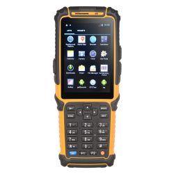 인조 인간 125kHz RFID 독자 PDA 소형 어려운 Barcode 스캐너 3.5inch 전시 키보드 Bluetooth WiFi 4G GPS