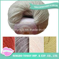 Encargo de varias capas que teje que hace punto de acrílico de lana Fancy Yarn