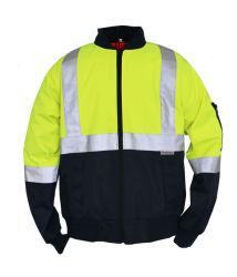 製造業者耐久の通気性の反射テープ安全作業摩耗の衣類