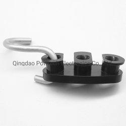 Déposer les connecteurs en plastique avec galvaniser crochet en acier