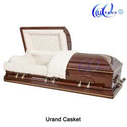 2019 de Doodskist van het Mahonie/Houten Doodskist/de Urn van de Crematie/BegrafenisDoodskist/Houten Doodskist/BegrafenisProducten/BegrafenisDoodskist Coffin/MDF