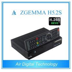 Цифровая воздуха новый спутниковый ресивер Zgemma H5.2s высокой загрузки ЦП Linux OS Enigma2 DVB-S2+S2 Twin-тюнеров с H. 265/Hevc